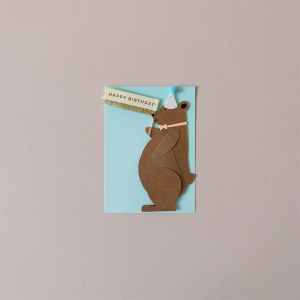 Honey Bear Note Card