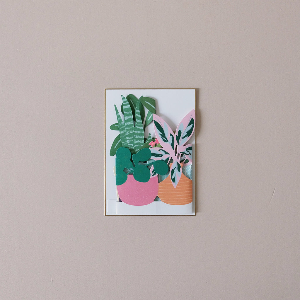 Potted Plant Note Card