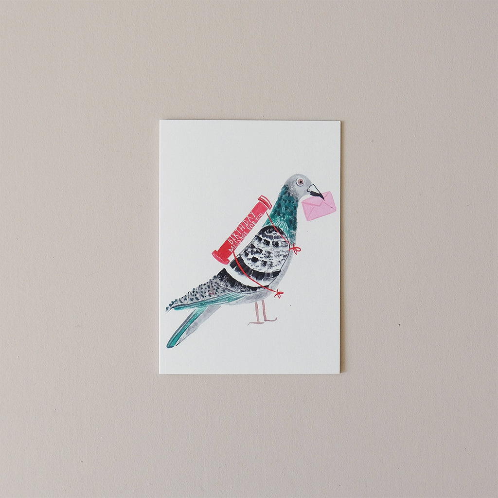 Pigeon Happy Birthday Note Card