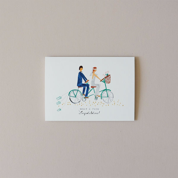 Tin Cans on the Tandem Note Card