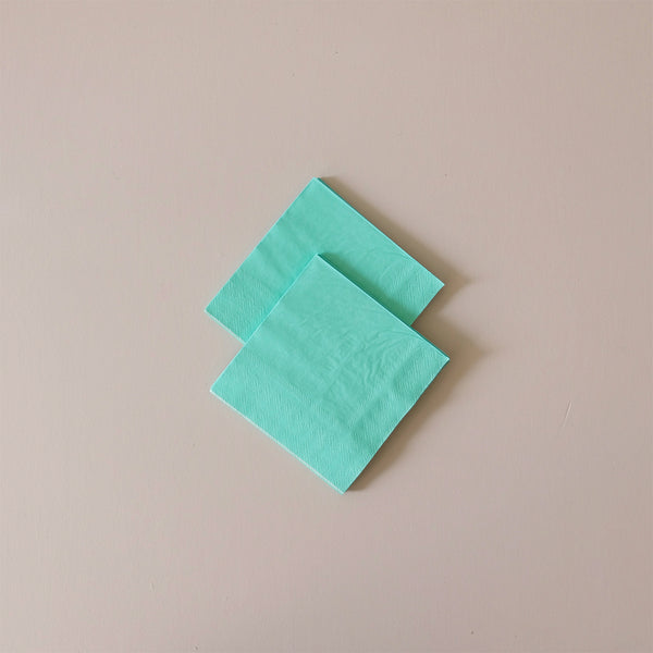 Cocktail Napkins Mint