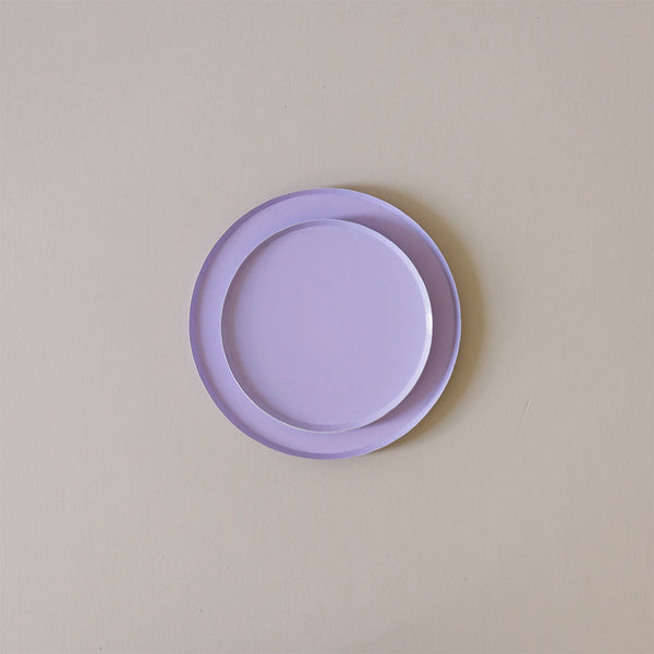 Paper Plates Lilac