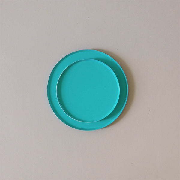 Paper Plates Teal