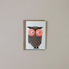 Owl Balloon Note Card