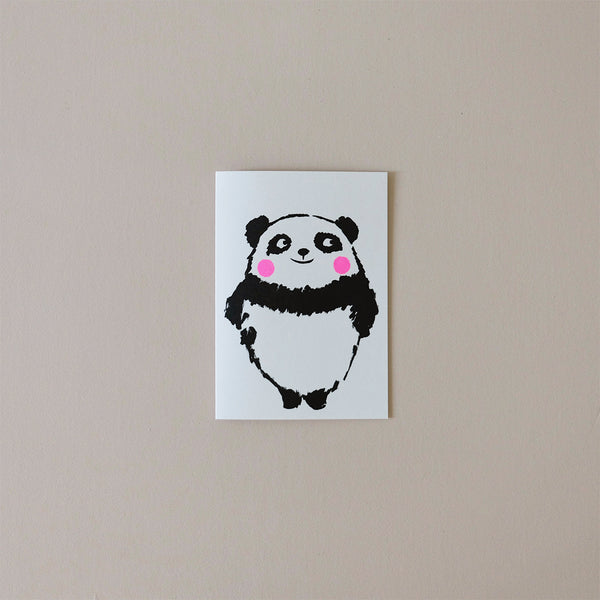 Panda Balloon Note Card