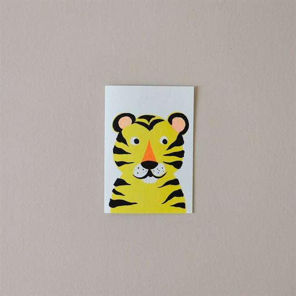 Tiger Balloon Note Card
