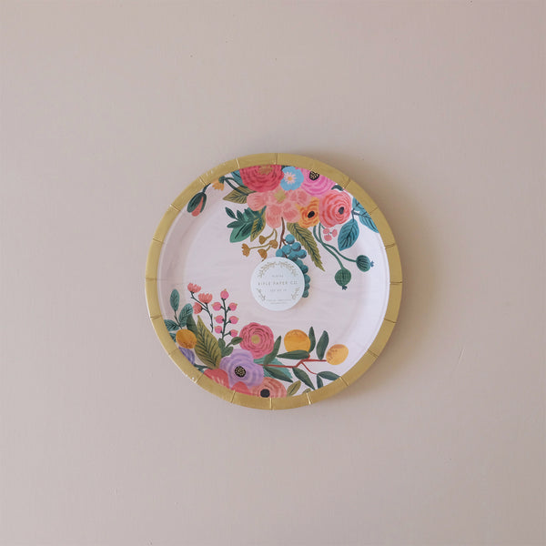 Paper Plates Garden Party Large
