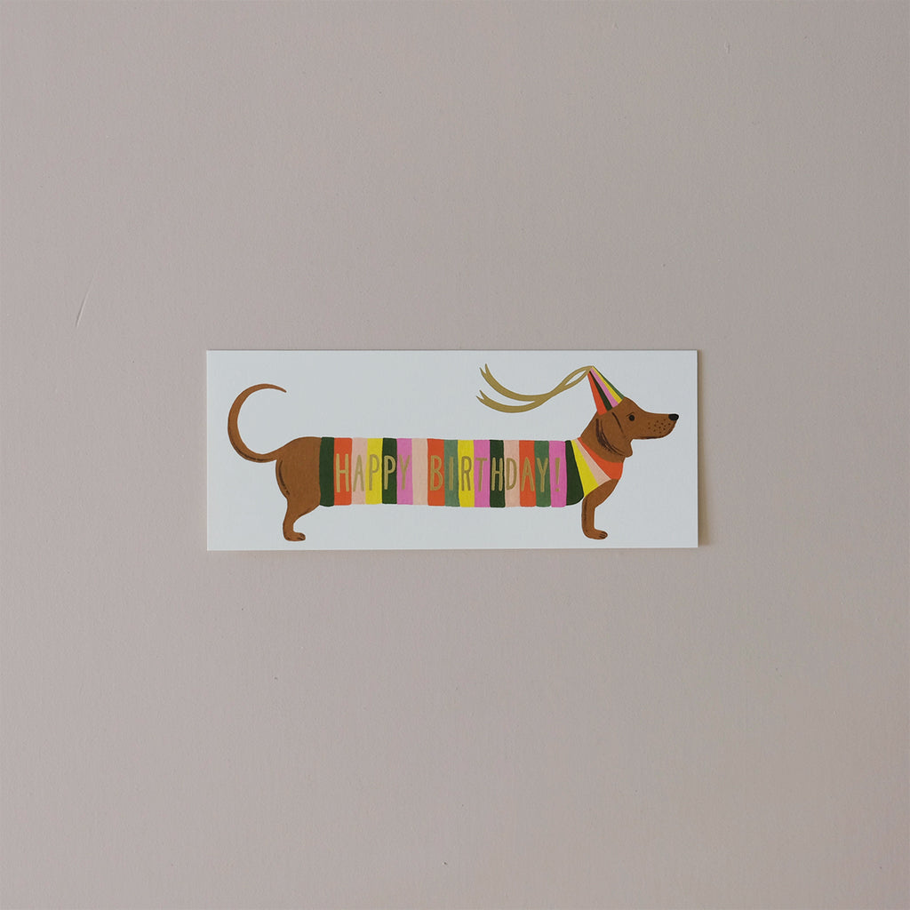 Hot Dog Note Card