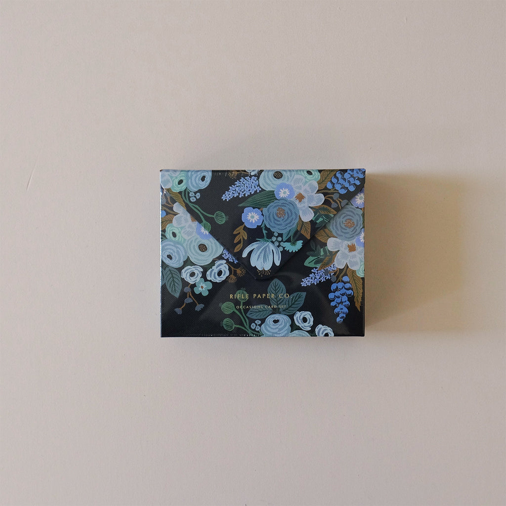 Mixed Florals Essential Note Card Box