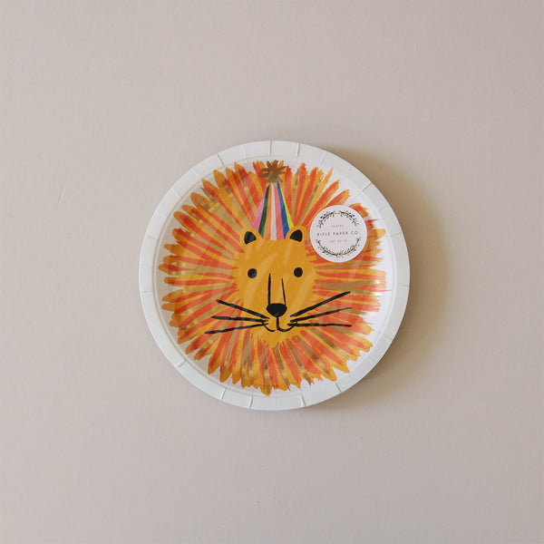 Paper Plates Party Animals Large