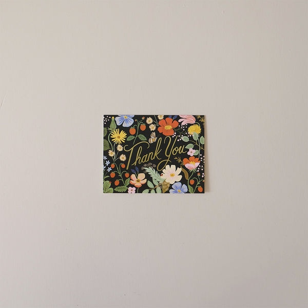 Strawberry Fields Thank You Note Card