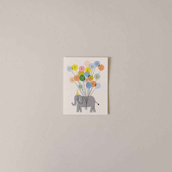 Welcome Elephant Note Card