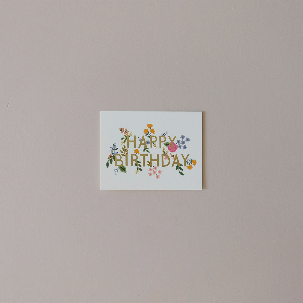 Wildwood Birthday Note Card