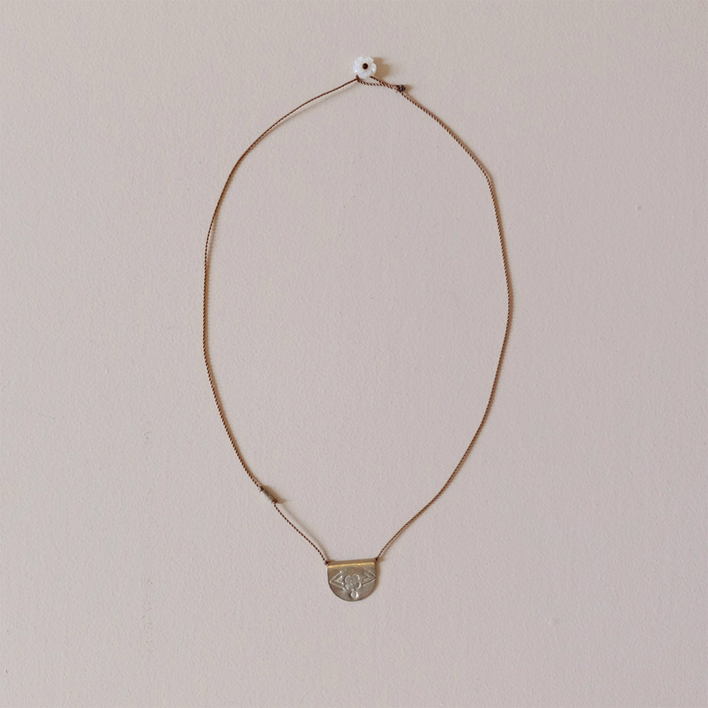 Half Moon Talisman Necklace