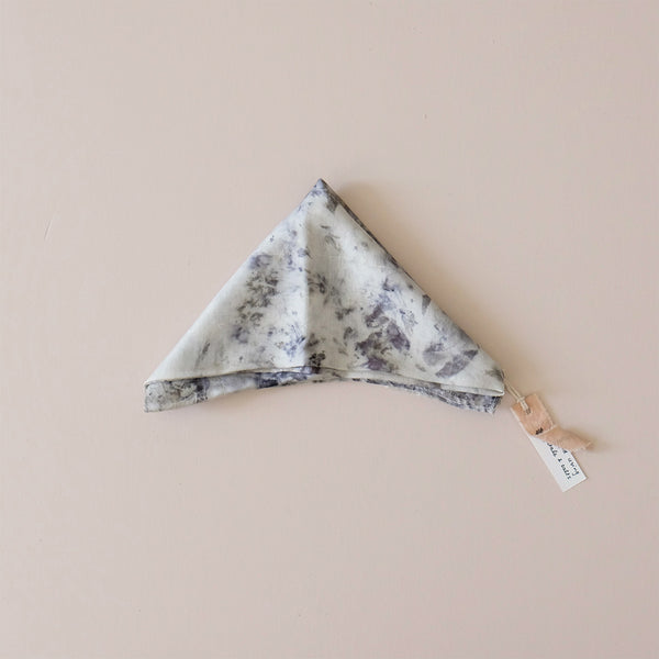 Plant Dyed Mulberry Silk Bandana N