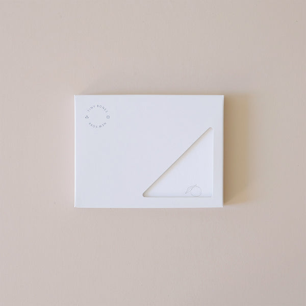 Citrus Stationery Set Gold Foil