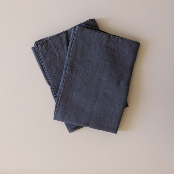 Linen Standard Pillowcase Dark Grey
