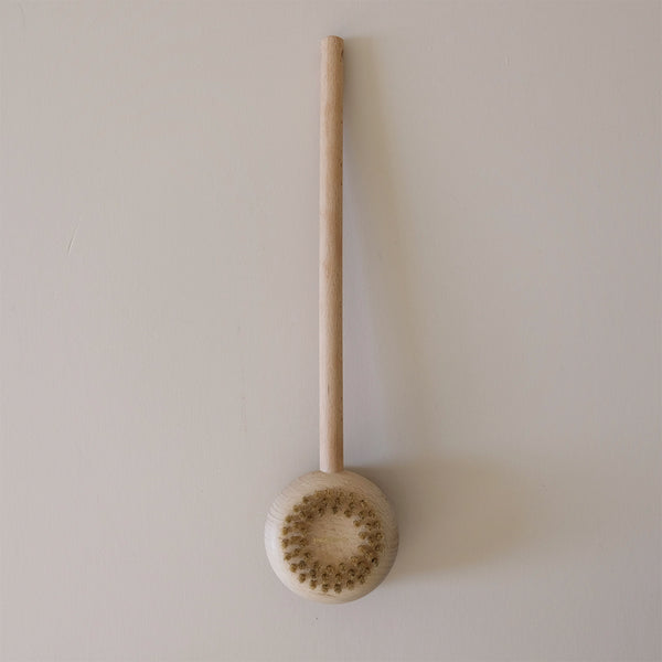 Beech Long Handle Body Brush