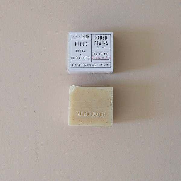 Field Scrub Small Batch Soap