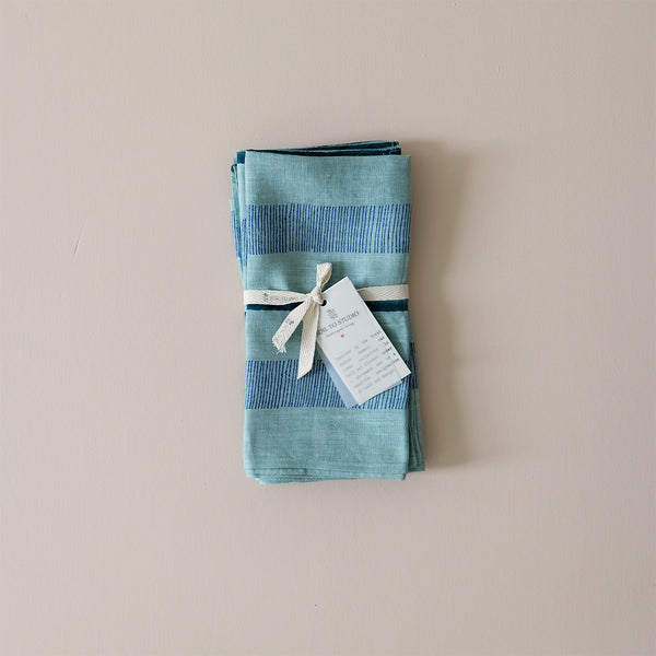 Indu Napkin Tiffany Blue Set/4