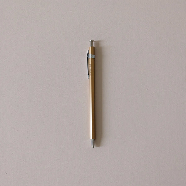 Wood Ball Pen Gold