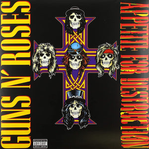 Guns N' Roses ‎| Appetite For Destruction [180g Vinyls]
