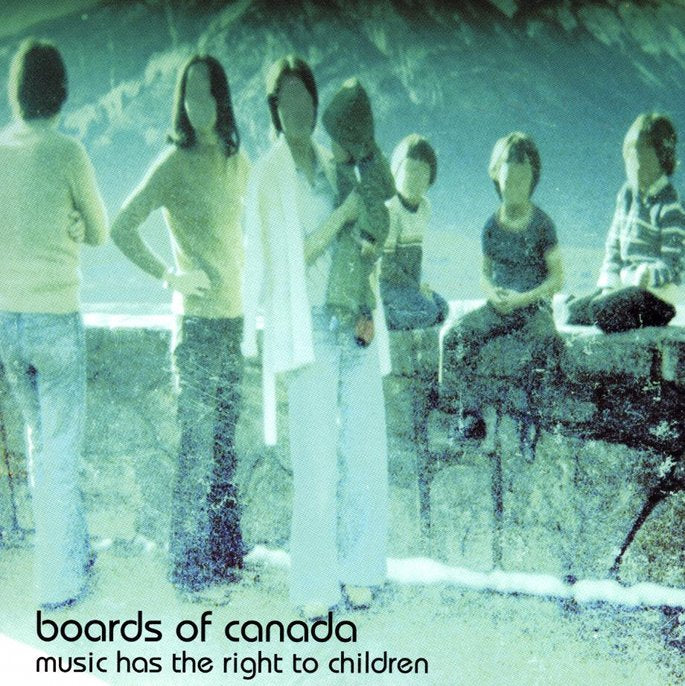 Boards Of Canada ‎| Music Has The Right To Children [Vinyl Record]