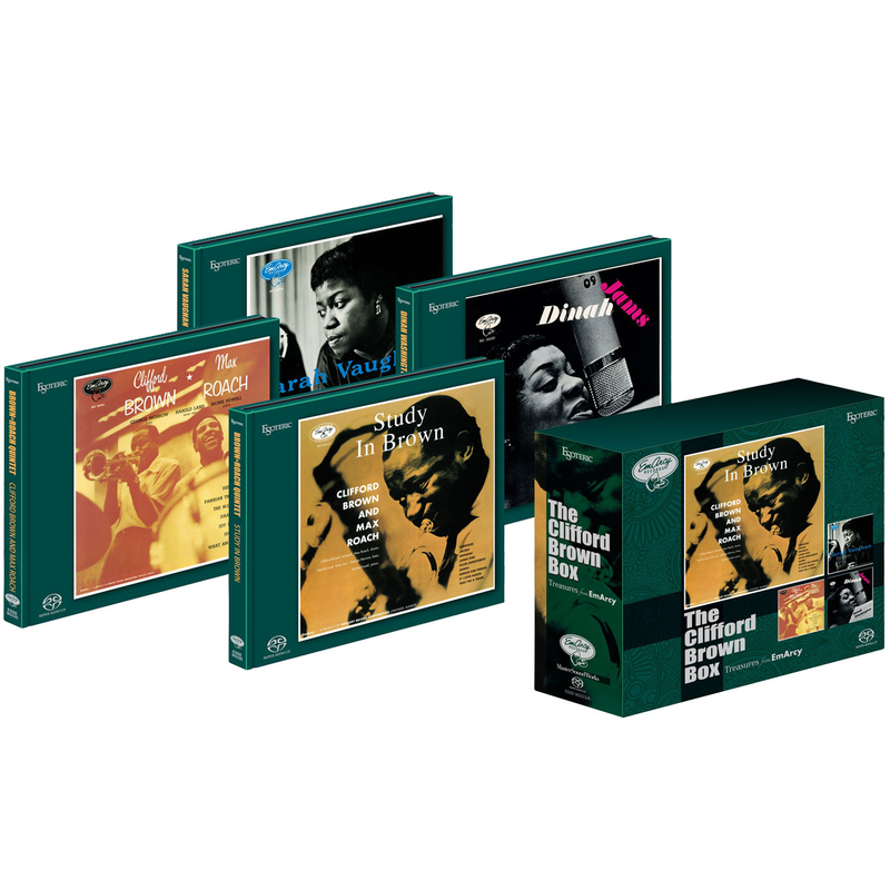 Brown, Vaughan, Jams, Roach | The Clifford Brown Box | SACD