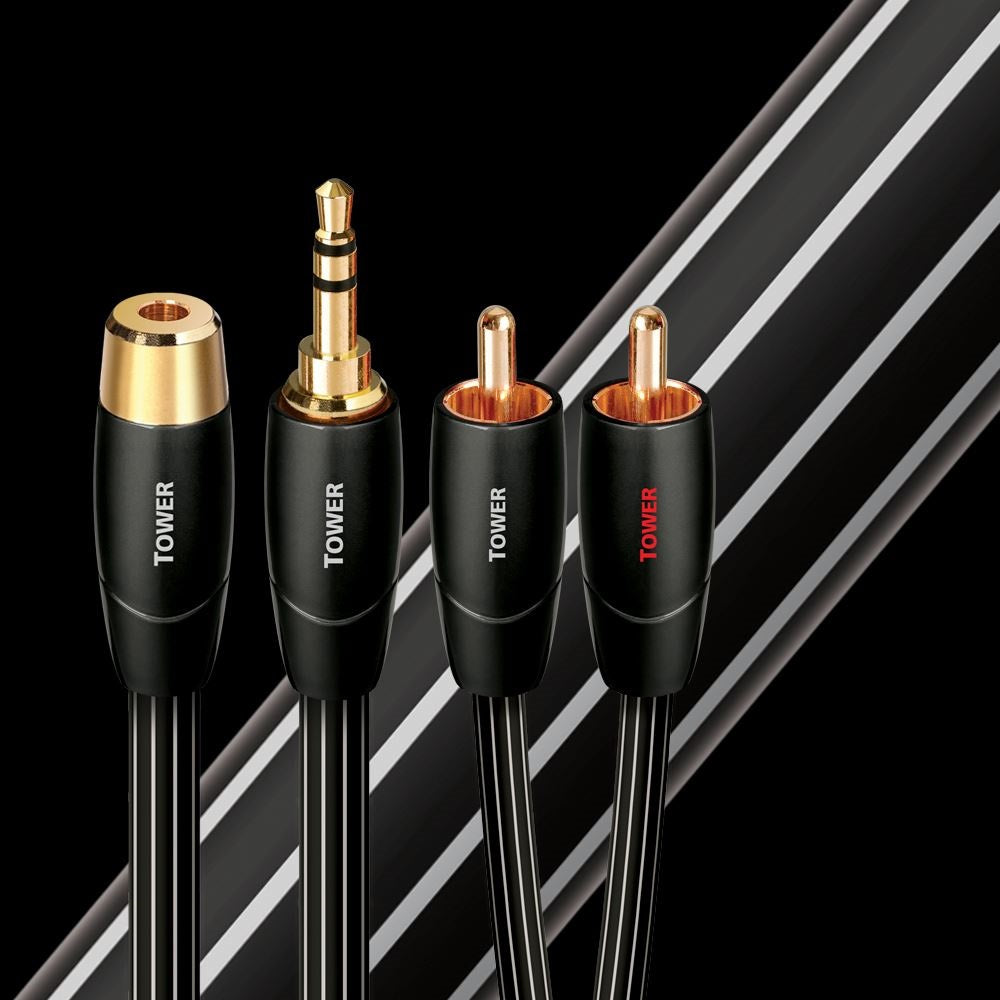 Tower | 3.5mm-RCA Interconnect Cable