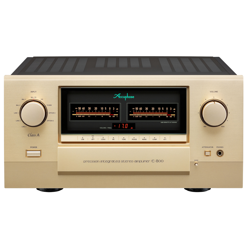 E-800 | Integrated Amplifier | Pure Class A