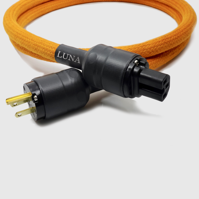 Orange | Power Cable