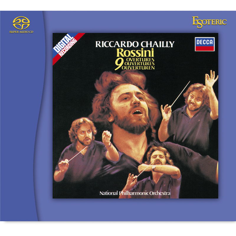 National Philharmonic Orchestra, Chailly | Rossini, 9 Overtures | SACD