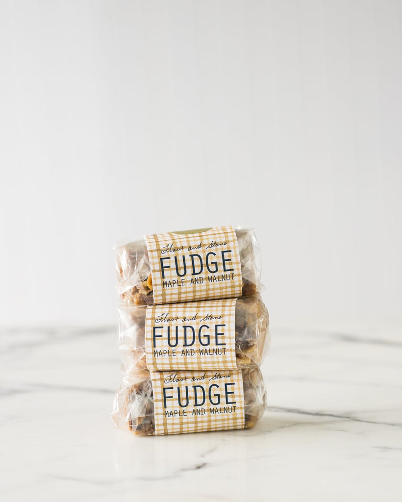Maple and Walnut Fudge