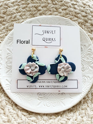 Mystical Floral Earrings