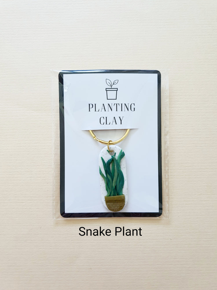 Load image into Gallery viewer, Houseplant Keychains