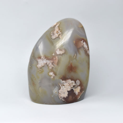 Flower Agate Free Form AGAFFF035 - Madagascar Import SEAM Inc.