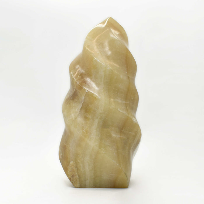 Brown Calcite Flame CABRFM021