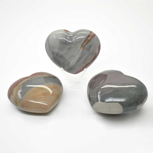 Polychrome Jasper Heart JASPHR015 - Madagascar Import SEAM Inc.