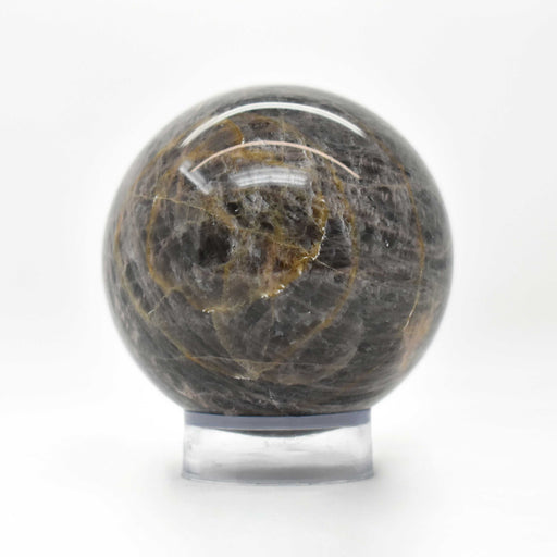 Black Moonstone Sphere MOBLSP022
