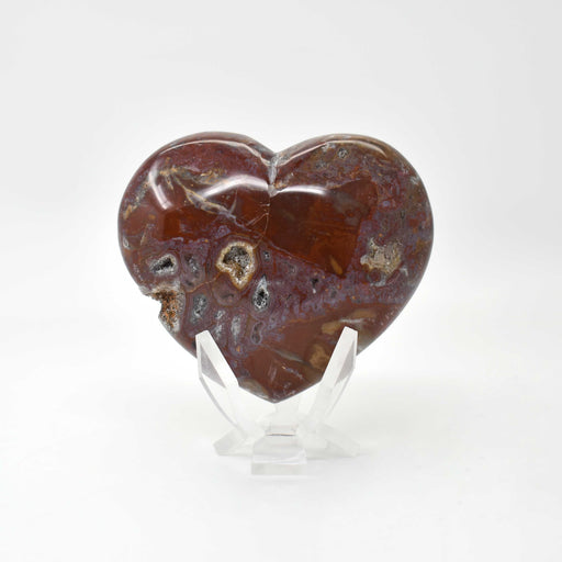 Petrified Wood Heart PWODHR010
