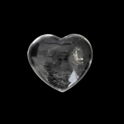 Clear Quartz Heart QUCLHR008