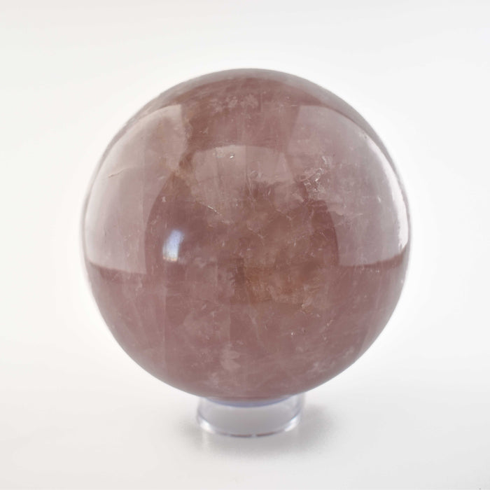 Rose Quartz Sphere QUROSP105 - Madagascar Import SEAM Inc.
