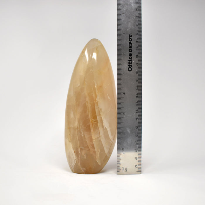Yellow Quartz Free Form QUYLFF030 - Madagascar Import SEAM Inc.