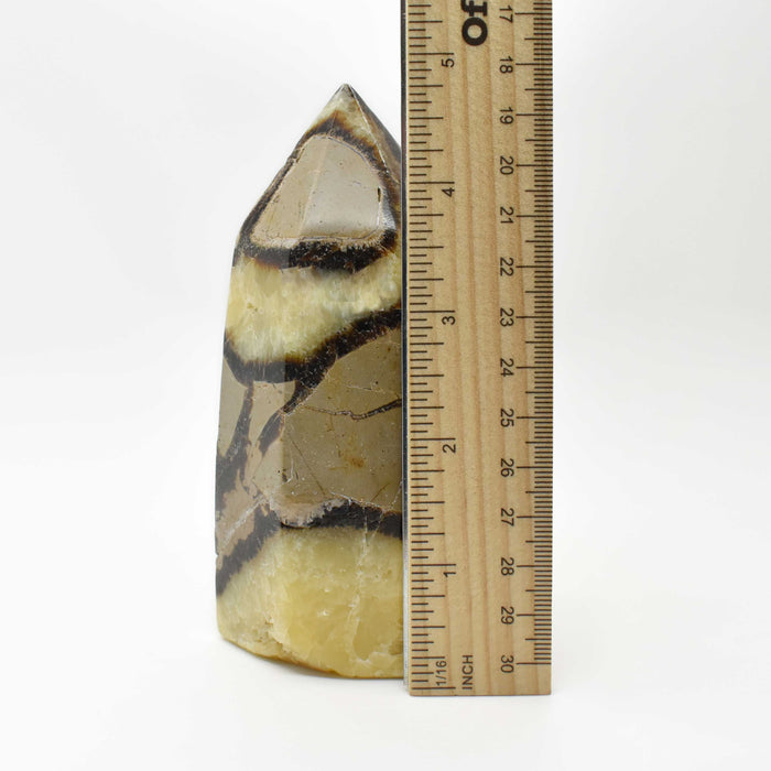 Yellow Septarian Prism SEYLPR016
