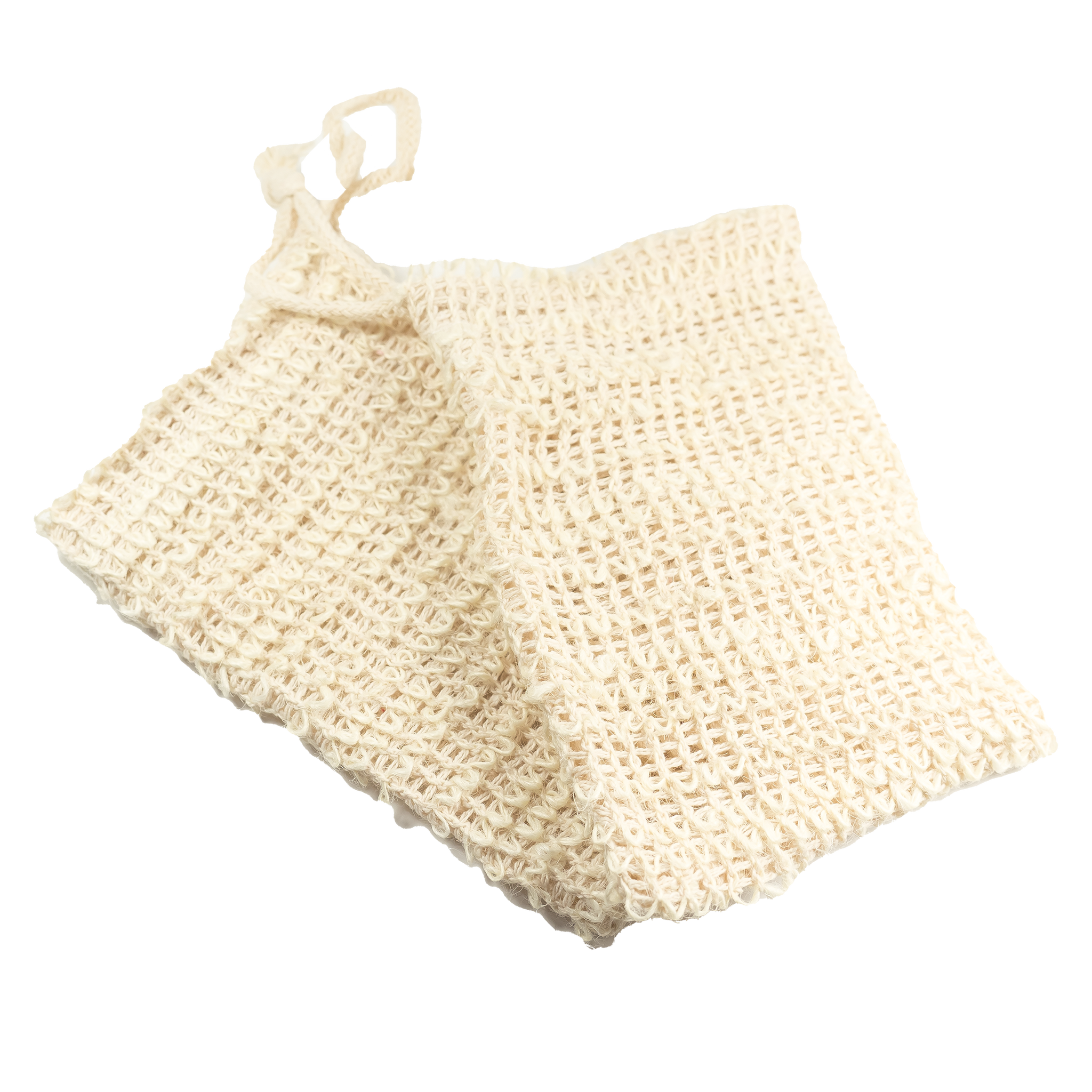 Natural Sisal Soap Bags