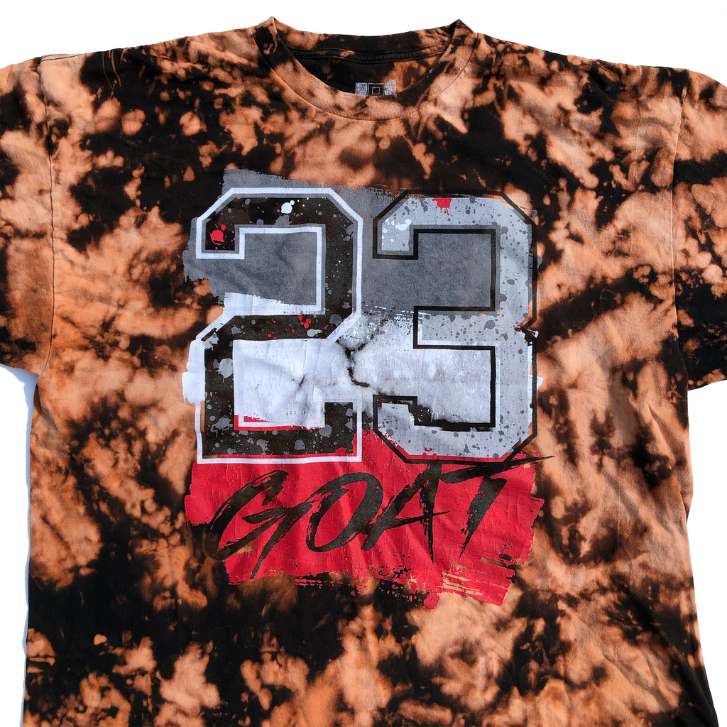 23 Goat Hustle Acid Wash Shirt