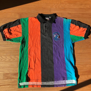 Charlotte Hornets Rare Vintage In The Paint Polo Shirt