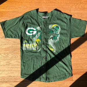 Vintage Green Bay Packers Baseball Jersey