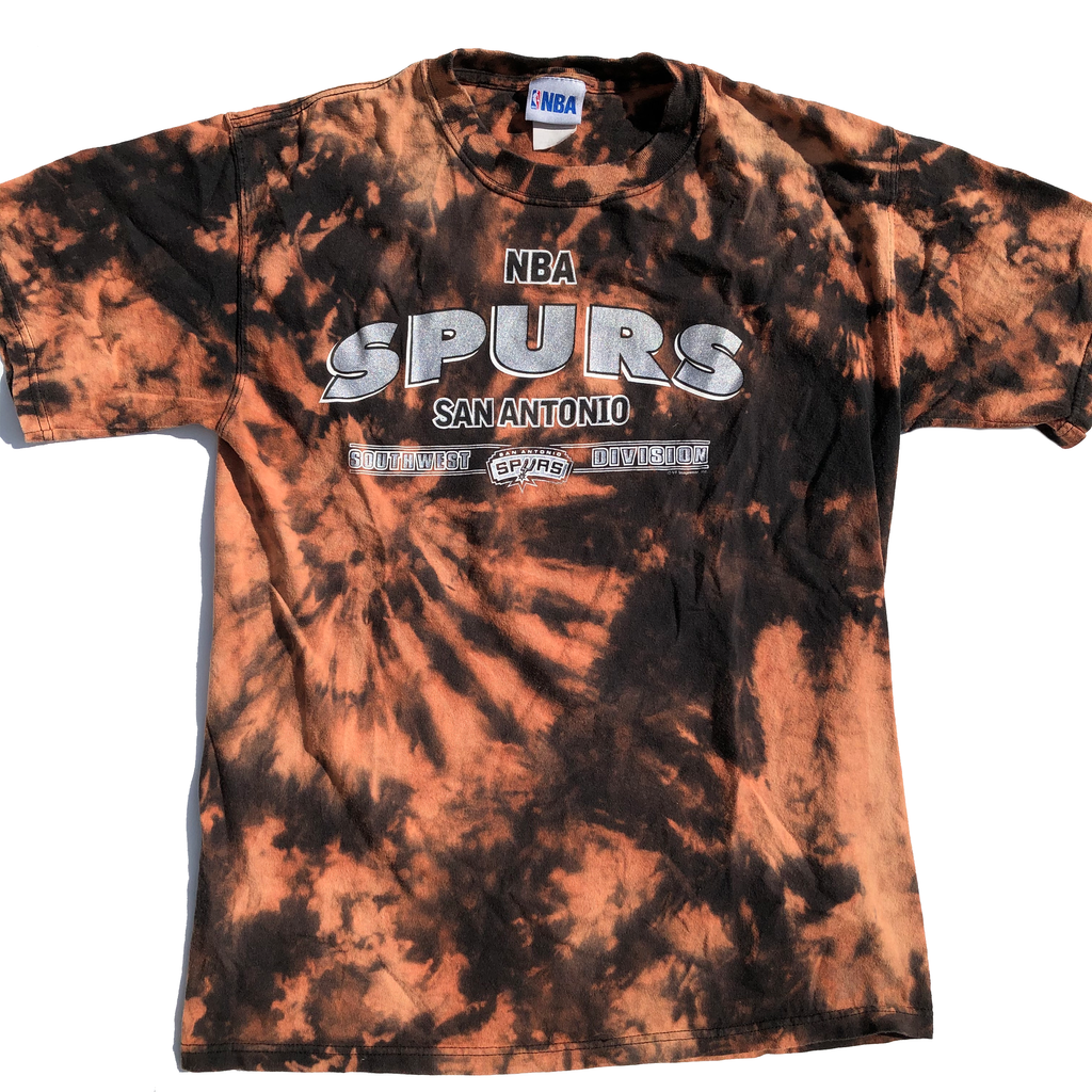 San Antonio Spurs Acid Wash Shirt