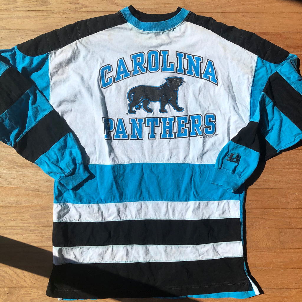 Vintage Carolina Panthers Long Sleeve Shirt
